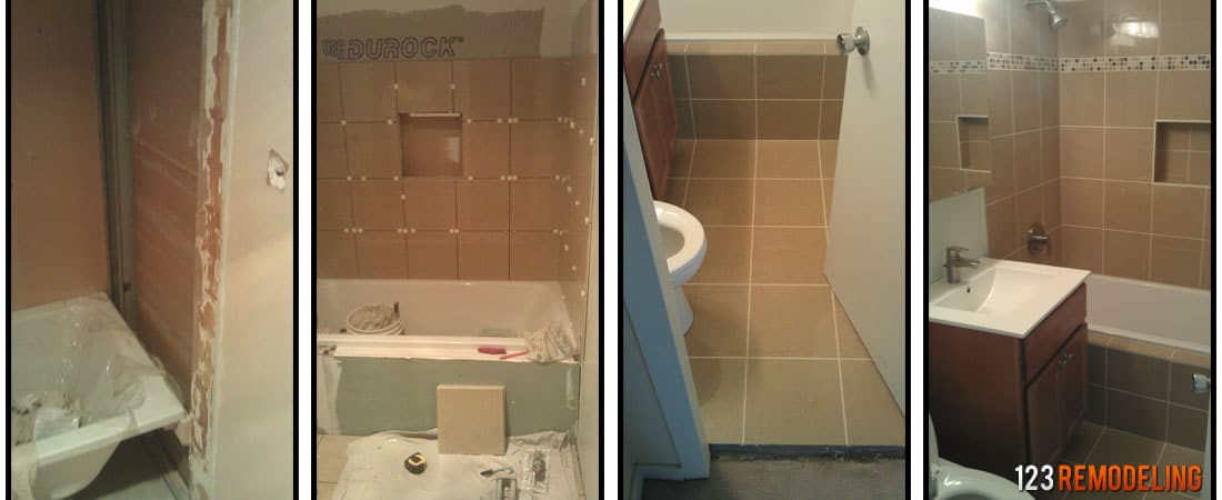 Average cost of bathroom remodeling in chicago Remodeling bathrooms cost