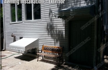 Chicago Awning Installation