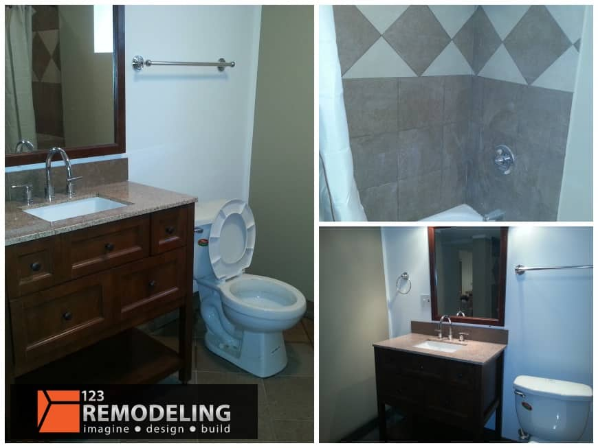 Basement Remodeling Refinishing Services In Chicago Adorable Bathroom Remodeling Chicago Il Concept