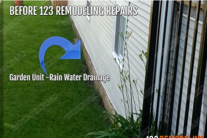 Garden Unit Drainage Issues