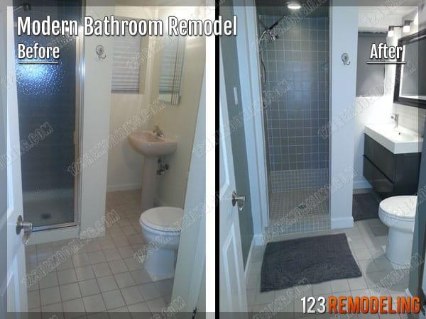 Modern Bathroom Remodeling Skokie IL