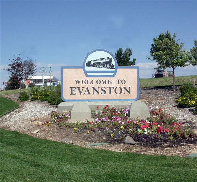 City of Evanston Sign