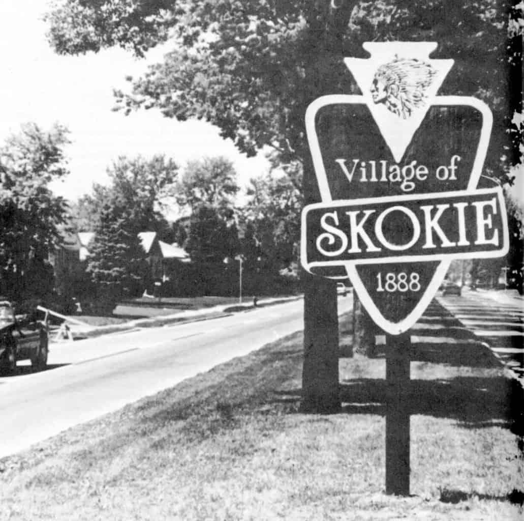 Village of Skokie Sign