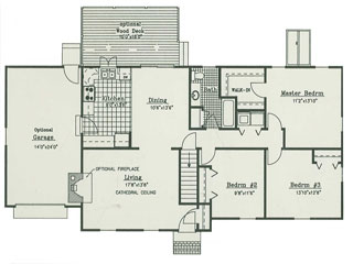 Home Architectural Design Drawing