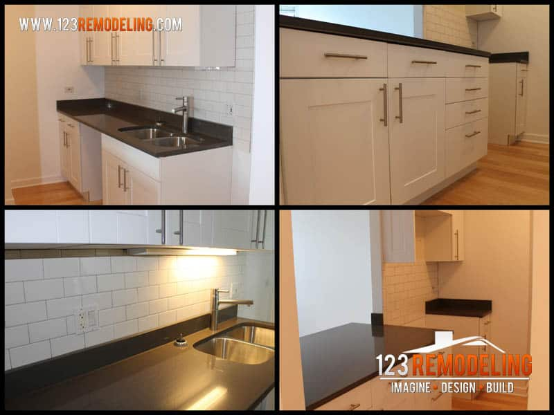 Studio Condominium Kitchen Remodel – River North, Downtown Chicago