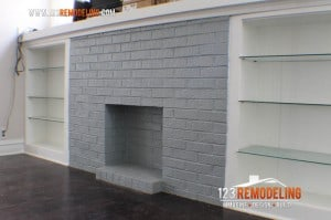 Fireplace Brick Paint