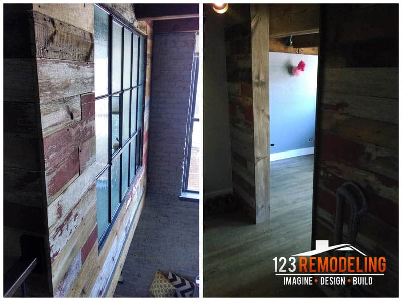 Loft Bedroom Addition - Lincoln Park