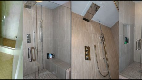 Before and After Condo Bathroom Remodel
