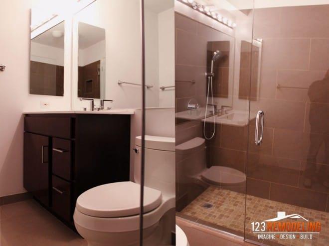 Chicago Bathroom remodel river north