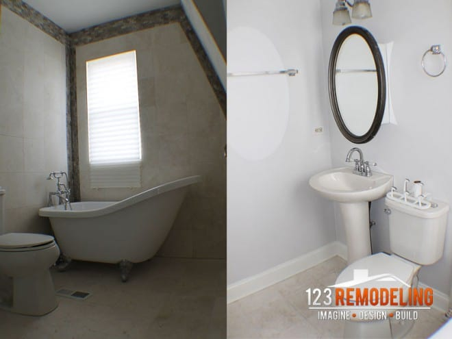 chicago bathroom remodeling by 123 remodeling