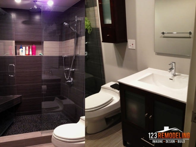 downtown chicago bathroom remodel
