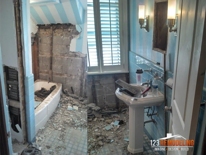 chicago bathroom remodel lakeview