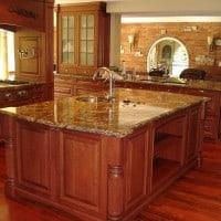 Quartz Countertop installed in kitchen