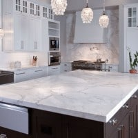 Soapstone Countertop installed in kitchen