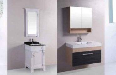 variety of bathroom vanities