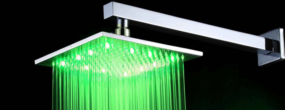 led shower