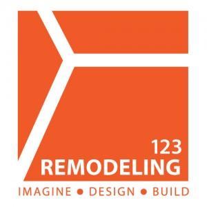 123 Remodeling Logo