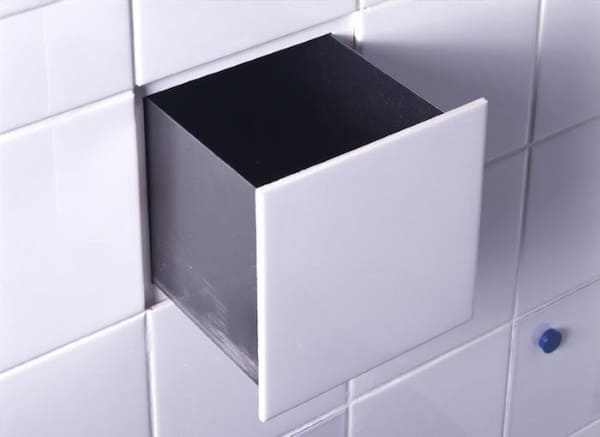 bathroom tile drawer