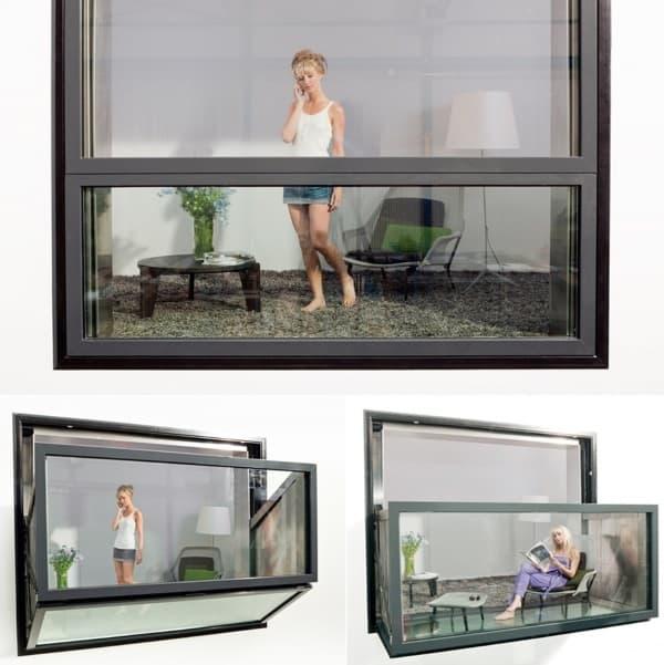 foldable balcony