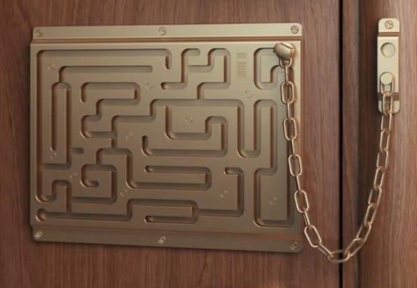 maze lock