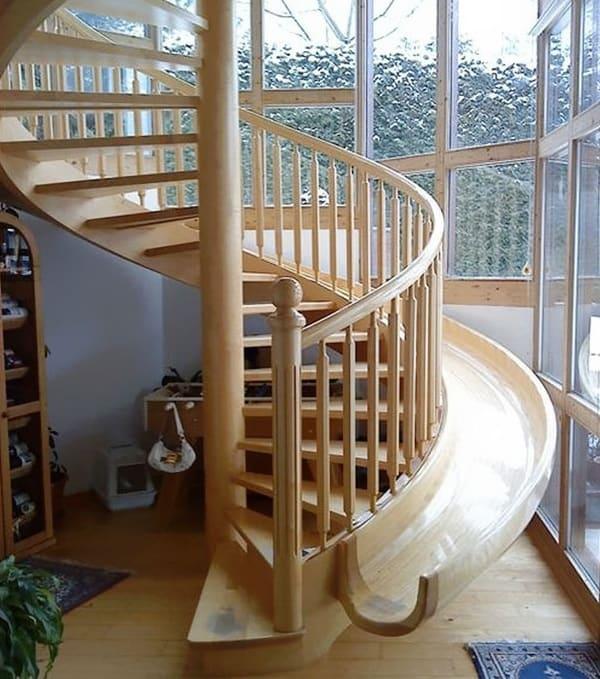 staircase slide