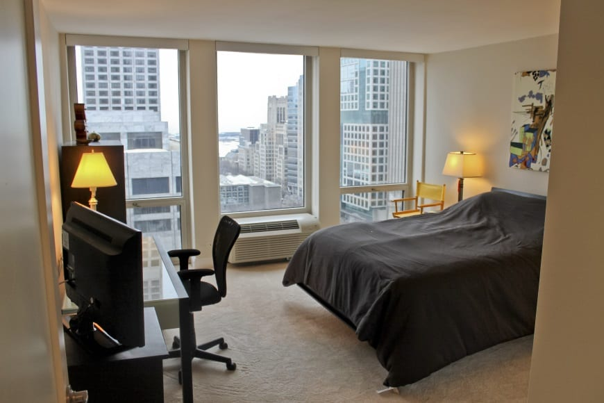 Bedroom Redesign at 111 E Chestnut St (Magnificent Mile)