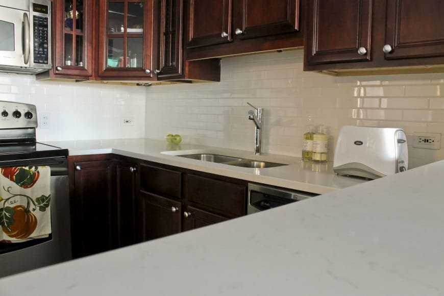 Gut Kitchen Renovation at 33 W Delaware in Magnificent Mile