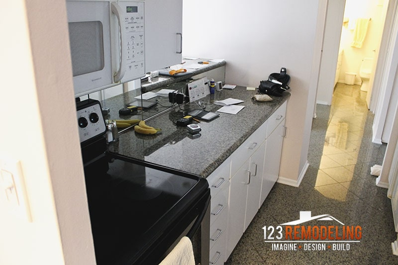 Before Kitchen Remodel at 111 E Chestnut St in Magnificent Mile