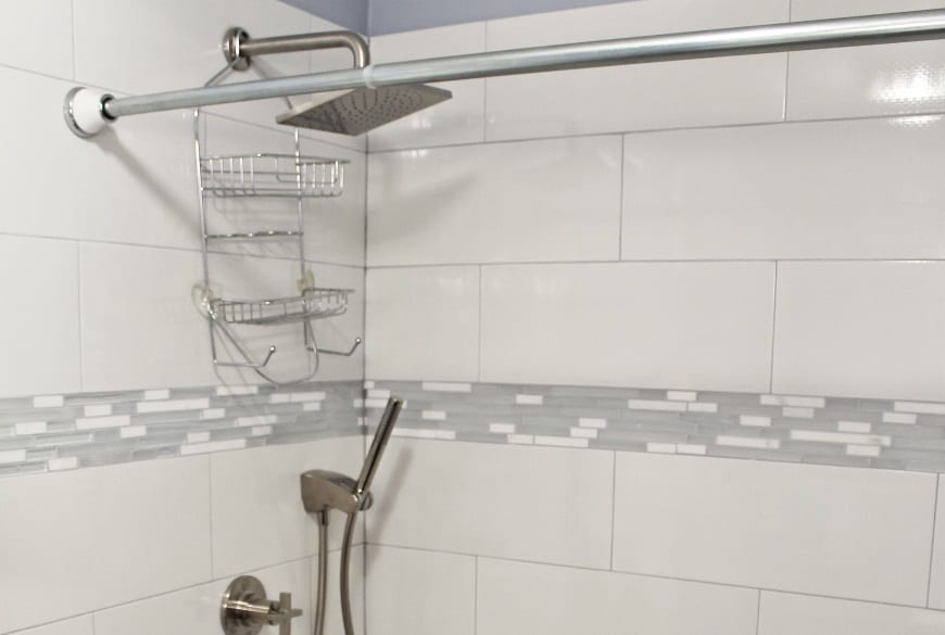 Guest Bathroom Remodel at 6101 N Sheridan Rd in Edgewater