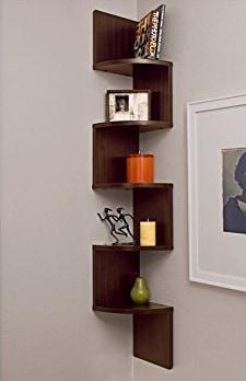 creative small bathroom ideas corner shelf