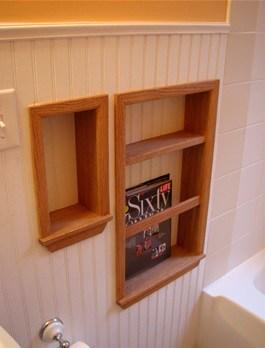 creative small bathroom ideas shelf