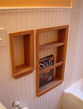 creative small bathroom ideas shelf