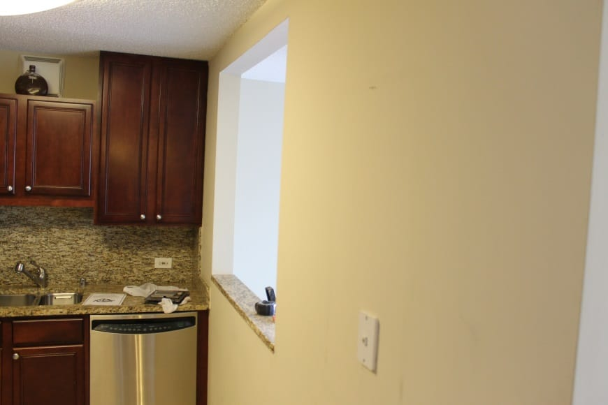 Before Kitchen Renovation at 33 W Delaware Ave in Magnificent Mile