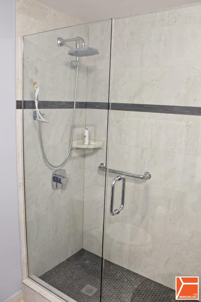 Condo bathroom remodel at 505 n lsd streeterville 123 for West shore bathroom renovations