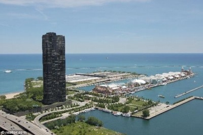 Lake Point Tower View Chicago