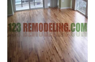 Condo Flooring After Installation