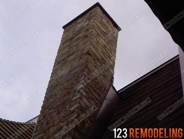 Brick Chimney Tuckpointing
