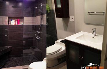 100 e huron 2nd bathroom after remodel