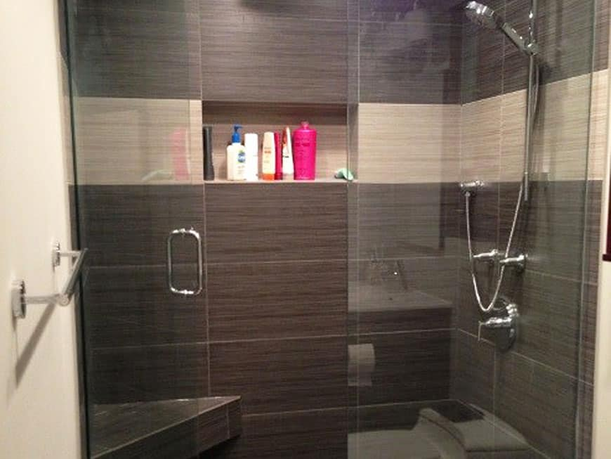 Condo Guest Bathroom Remodel - 100 E. Huron St,, Chicago, IL (River North)
