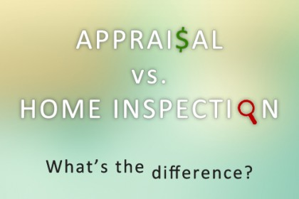 Appraisal vs Home Inspection