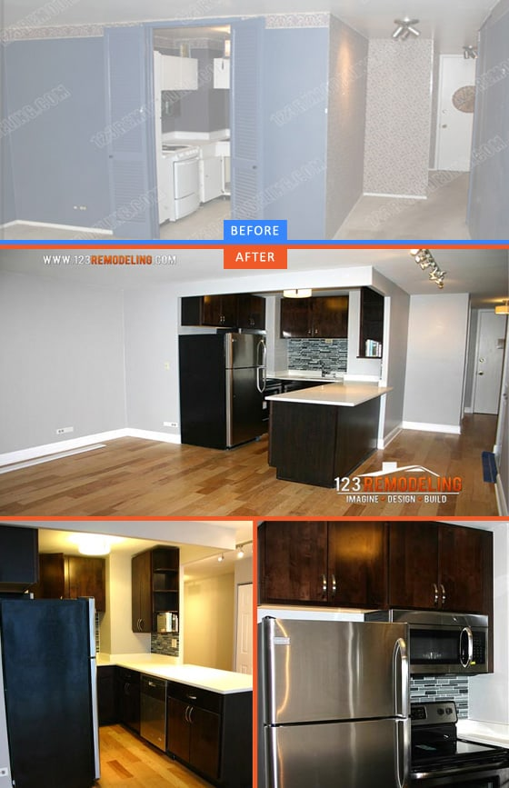 kitchen, remodeling, Chicago, open layout