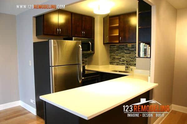 hi-rise kitchen remodel