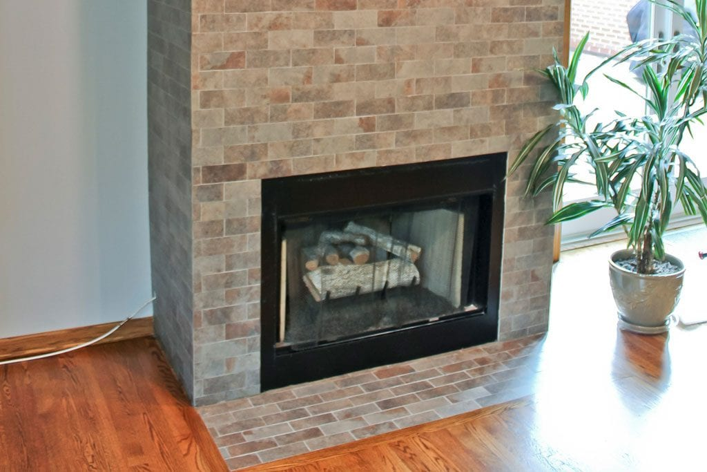 Townhouse Fireplace Remodel - 1435 S Prairie Ave, Chicago, IL (South Loop)