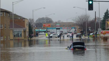 chicago flooding mold water damage
