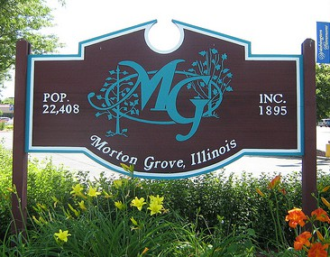 Village of Morton Grove Sign