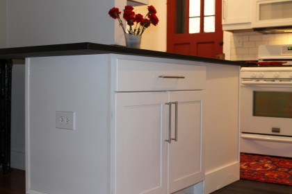 countertop island kitchen remodel