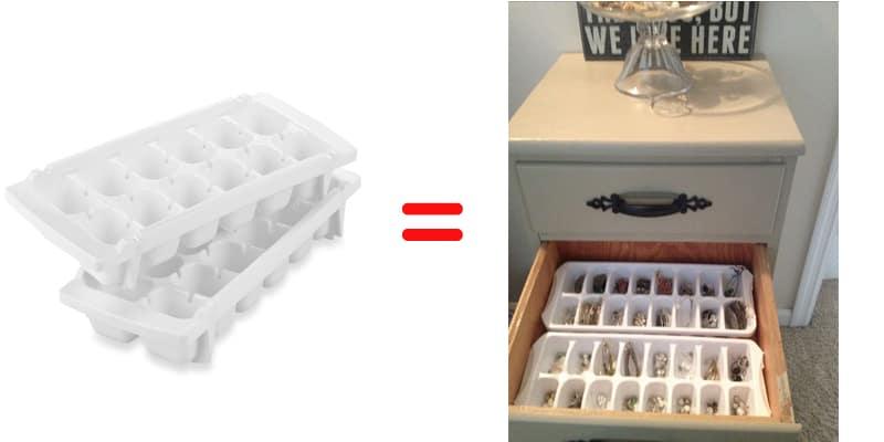 ice cube tray storage idea remodeling
