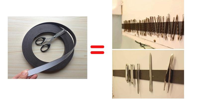 storage magnetic strip remodeling