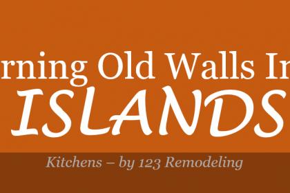 walls islands kitchen remodeling