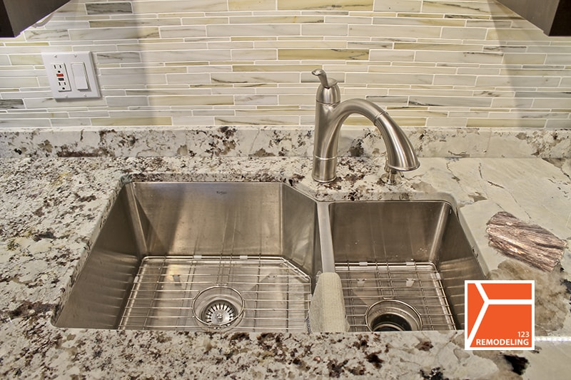 GFI electric outlet kitchen remodeling